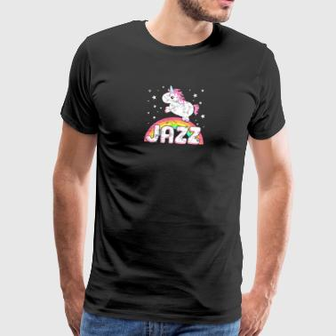 jazz ironique cool Unicorn - T-shirt Premium Homme