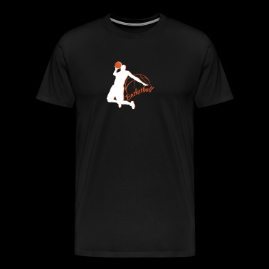 Cool basketball design - Men's Premium T-Shirt