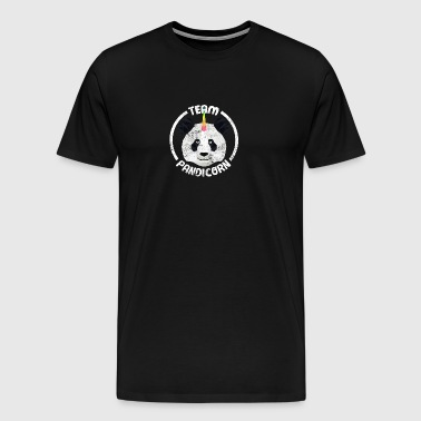 Team Pandicorn Funny Panda Unicorn Squad Shirt - Men's Premium T-Shirt
