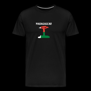 Nation-Design Madagascar Baobab Xaekfp - Mannen Premium T-shirt