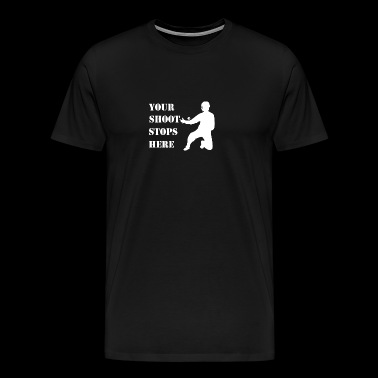 Floorball Goalkeeper - Männer Premium T-Shirt