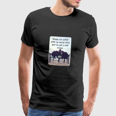 Things are never quite as scary... - Männer Premium T-Shirt