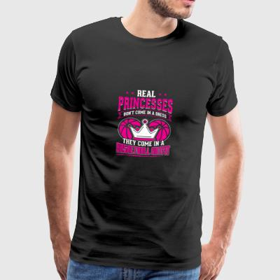 basket-ball REAL PRINCESSES - T-shirt Premium Homme