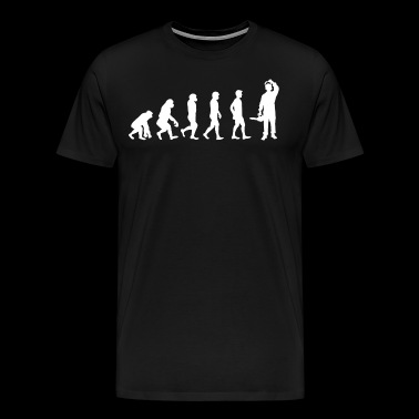 Evolution of wood / WOOD / - Men's Premium T-Shirt