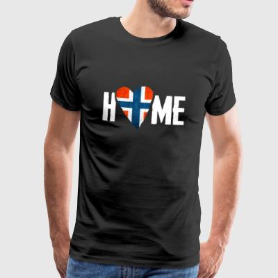 HOME NORWAY COUNTRY NORWAY HOME SCANDIA NORGE - Men's Premium T-Shirt