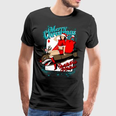 North Pole Airlines. The Christmas Express. - Men's Premium T-Shirt