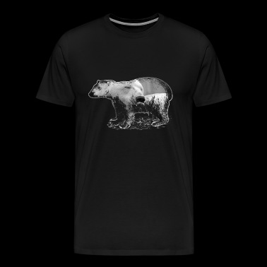 Ours polaire - T-shirt Premium Homme
