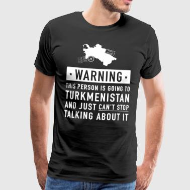 Original Turkmenistan holiday gift - Men's Premium T-Shirt
