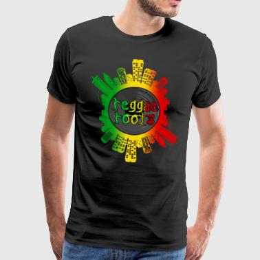 Reggae Roots - Men's Premium T-Shirt