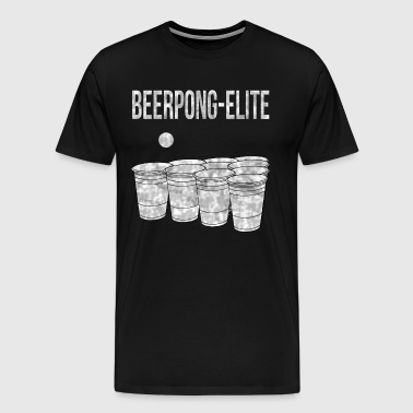 Beerpong elite - Men's Premium T-Shirt