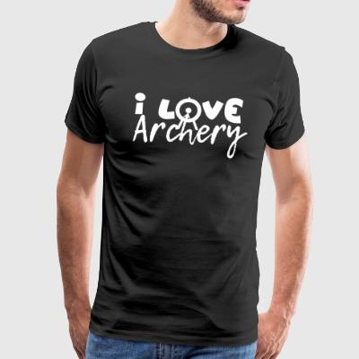 Archery - Archer - Archery - Men's Premium T-Shirt