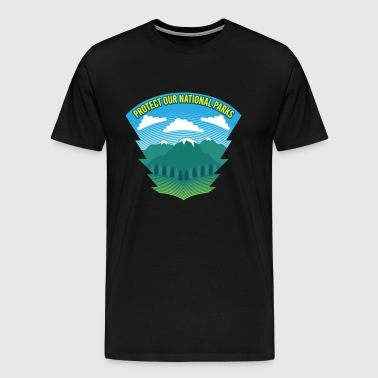 Beskyt vores nationalparker - Nature Forest Recreation - Herre premium T-shirt