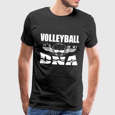 VOLLEYBALL - Det er i mit DNA - Herre premium T-shirt