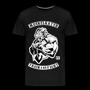 Muskelkater Fight Club - Train And Fight - Männer Premium T-Shirt