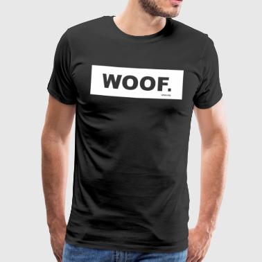WOOF urban.dog White - Men's Premium T-Shirt