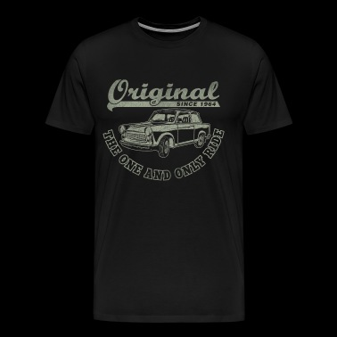 Two-stroke DDR Trabant 601 racing cardboard - Men's Premium T-Shirt