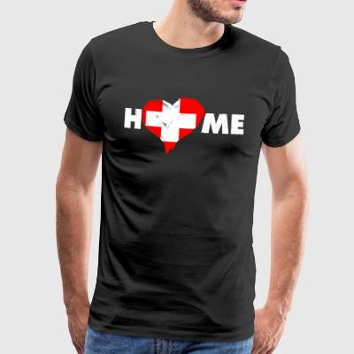 Home love Switzerland - Men's Premium T-Shirt