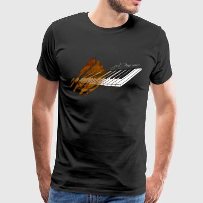 Piano Music - T-shirt Premium Homme