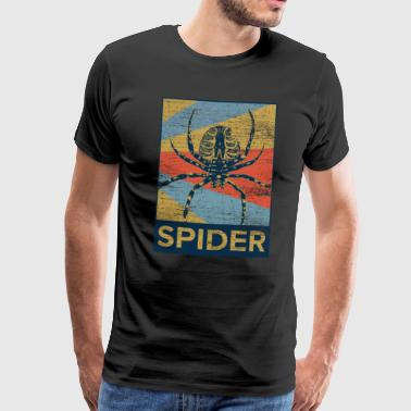 Spider scared poison animal gift web - Men's Premium T-Shirt