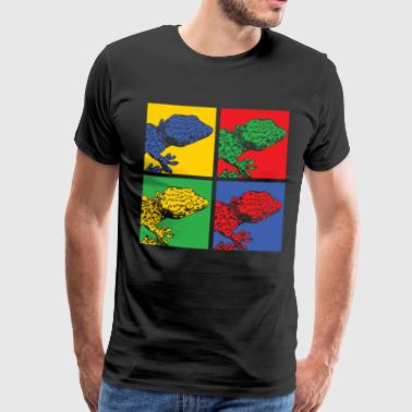 Pop Art Gecko - Men's Premium T-Shirt