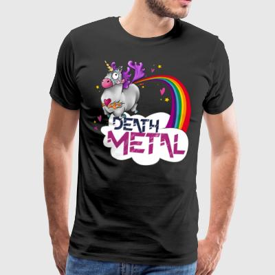 Death Metal Unicorn - Men's Premium T-Shirt