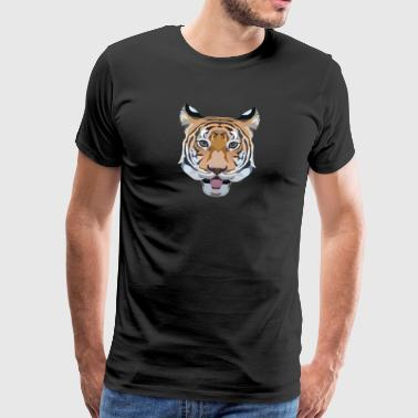 Tiger - Premium T-skjorte for menn