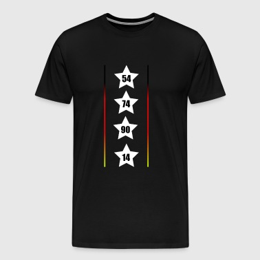 World Cup Germany I Black Red Gold I Football fan - Men's Premium T-Shirt