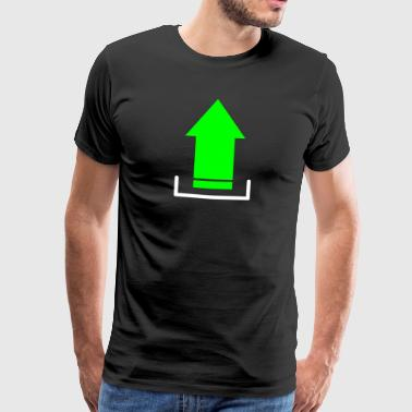 Download Upload Nerd Geek 2c - Mannen Premium T-shirt