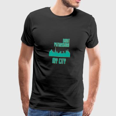 Saint Petersburg MY CITY - Premium-T-shirt herr