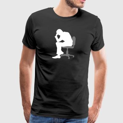 The Thinker - Men's Premium T-Shirt