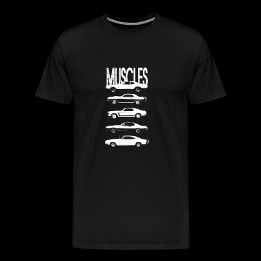 Muscles cars - Men's Premium T-Shirt