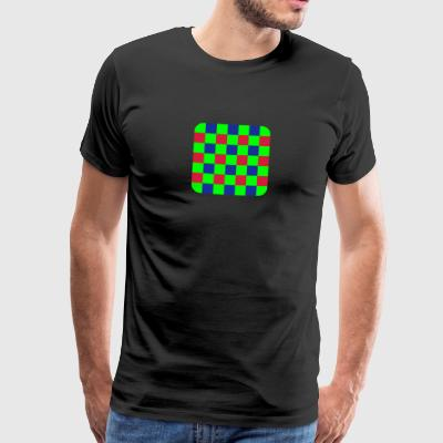 Bayer Sensor Matrix - Männer Premium T-Shirt