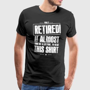 Pension pension funny gift - Men's Premium T-Shirt
