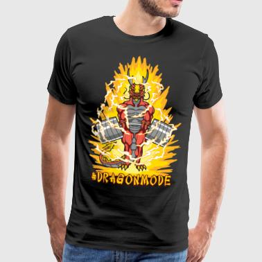 #Dragonmode (Aura Version) - Herre premium T-shirt