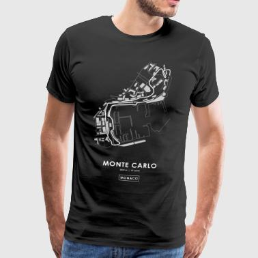 CIRCUIT OF MONTE CARLO - MONACO - Men's Premium T-Shirt