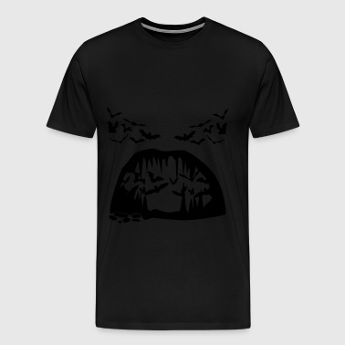 Bats, Bat  - Men's Premium T-Shirt