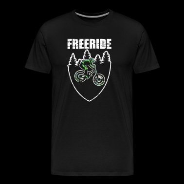 Freeride MTB Design - Men's Premium T-Shirt
