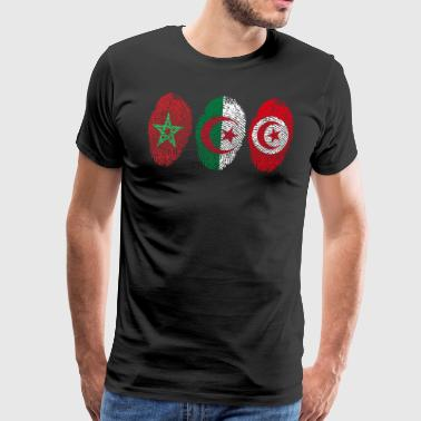 MAGHREB UNITED المغرب LOGO - Men's Premium T-Shirt