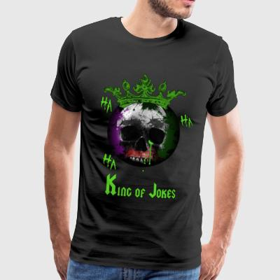 KING OF JOKES - Männer Premium T-Shirt