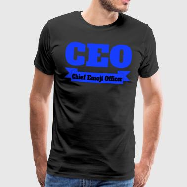 CEO - Chief Emoji Officer - Men's Premium T-Shirt