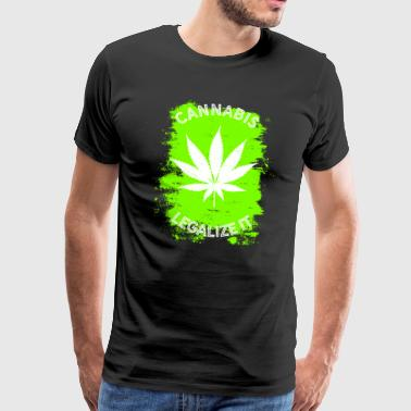 Legalize it Cannabis - Legalization Marijuana THC - Men's Premium T-Shirt