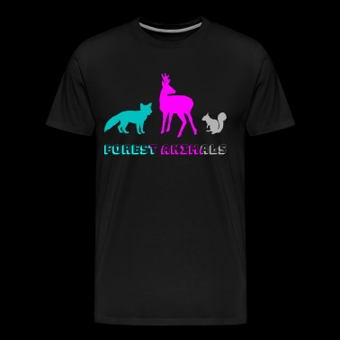 Forest animals - Men's Premium T-Shirt