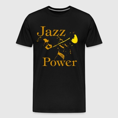 jazz power 06 - Männer Premium T-Shirt