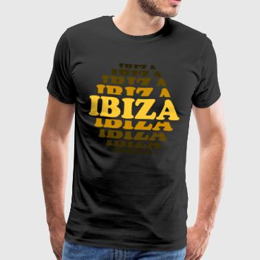 Ibiza cooper brown - Premium T-skjorte for menn