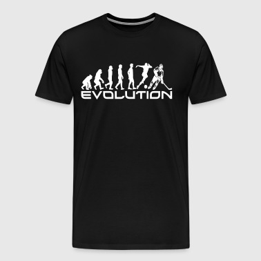 EVOLUTION HOCKEY - Premium T-skjorte for menn