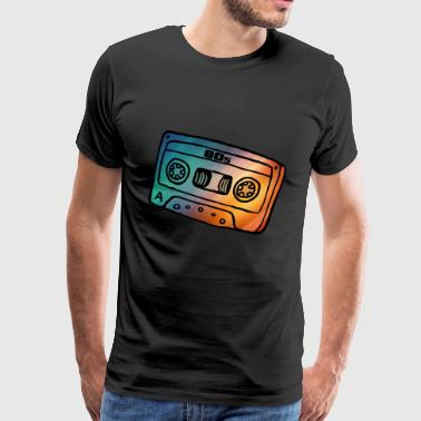 Cassette 80s music gift - Men's Premium T-Shirt