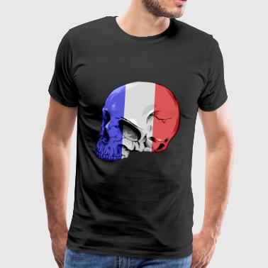 Frenchcore skull - Men's Premium T-Shirt