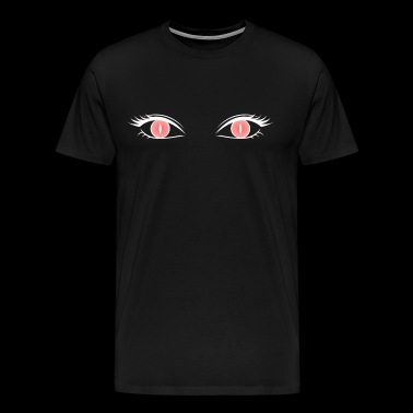 Red Cat Eye - T-shirt Premium Homme