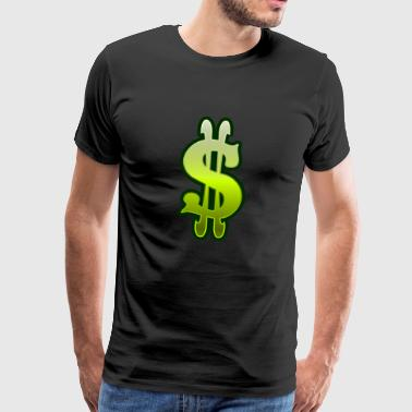 Dollar sign dollar money - Men's Premium T-Shirt