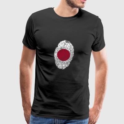 Fingerprint - Japan - Mannen Premium T-shirt